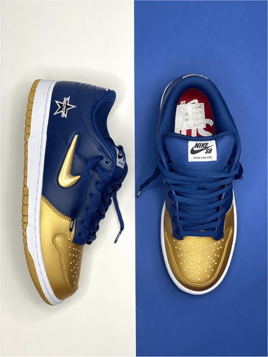 Nike x SUPREME Dunk SB
